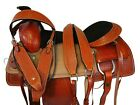 COWBOY WESTERN ROPING TRAIL SADDLE 17 16 PLEASURE REINING HORSE ROPER RANCHER