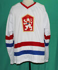 DOMINIK HASEK TEAM CZECHOSLOVAKIA HOCKEY JERSEY CZECH NEW SEWN ANY SIZE