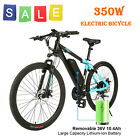 350W 36V Electric Mountain Bicycle w/ 10.4A Lithium Battery 24 Speed Sport Brand