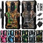 For LG SOLO LTE / K40 / Harmony 3 Holster Case Armor Kickstand Cover LuxGuard C3