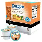 Snapple Peach Flavored Iced Tea, Keurig K-Cup Pods - FREE EXPEDITED SHIPPING