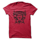 LEGENDS ARE BORN IN APRIL Gym Rabbit T Shirt Workout Gym Fitness D831