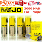 2/4x 3000mAh MXJO IMR 18650 HIGH DRAIN 35A Rechargeable Lithium Vape3 Battery
