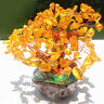 ITS- 4.72inch Feng Shui Bonsai Faux Crystal Money Tree Good Lucky Home Room Deco