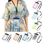 Waterproof Phone Case Swimming Phone Protector Carrier Case Cover with Lanyard