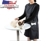 Pet Dog Cat Grooming Apron Clothes Haircut Beauty Anti static Waterproof Smock