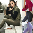 Women Sexy Push Up Yoga Pants Sport Gym Skinny Leggings Fitness Shark Trousers