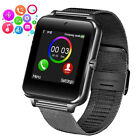 Black Slim Bluetooth Smartwatch Touch Screen Phone Call Text for Business Office