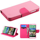 For HTC Desire 510 Wallet Case With ID Holder Slots Pouch