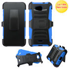 For Kyocera Hydro Wave Hybrid HEAVY DUTY Rugged Armor Clip Holster