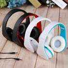1/2 Set Foldable Wireless Headset With Mic Free Call Stereo Earphones
