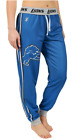 KLEW NFL Women's Detroit Lions Cuffed Jogger Pants, Blue $34.99 USD on eBay