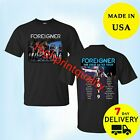 New Tour Dates 2019 Foreigner Cold As Ice Tour T-Shirt full Size 2 Side Tee image
