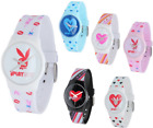 PLAYBOY Orologio polso donna silicone trendy moda ragazza originale fashion DD
