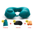 U-Shape Inflatable Neck Pillow Travel Air Plane Portable Head Relax Cushion Pads