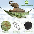 600lbs Load Single & Double Camping Hammock With Mosquito Net Portable Parachute
