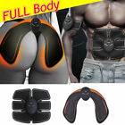 Electric Muscle Toner Abs Fat Burner Kit Wireless Toning Belt Simulation Machine image