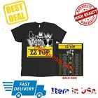 New Shirt Tour 2019 ZZ Top 50th Anniversary Black Men T-Shirt All Size Official image
