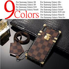 Luxury Girly Leather Plating Square Case for Samsung Galaxy Note S8/9/10 Plus