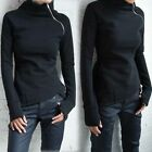 Women Autumn Casual Pullover Jumpers Top Ladies Long Sleeve Sweater Shirt Blouse
