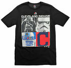 MLB Youth Cleveland Indians Star Wars Main Character T-Shirt, Black $9.99 USD on eBay