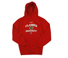 Reebok NHL Youth Calgary Flames Fleece Pullover Hoodie, Red $19.95 USD on eBay