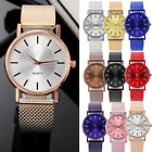Fashion Women Watch Mesh Band Stainless Stell Quartz Analog Dress Wrist watch image