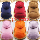 Kyпить US Pet Dog Sweater Soft Dogs Clothes Sports Hoodie Jumper Coat Puppy Cat Apparel на еВаy.соm
