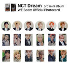 NCT DREAM 3rd mini album WE BOOM Official Photocard Member SET KPOP K-POP