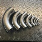 Stainless Steel 90 Degree Elbows Unpolished - Dull Finish Pipes Metal Angle
