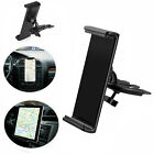"""360° Universal CD Slot Car Mount Holder Stand for Cell Phone & 8-10"""" Tablets Pad"""