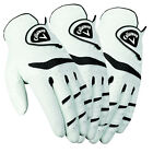 New Callaway Fusion Pro Men's 3-Pack Golf Gloves - White - Pick Size