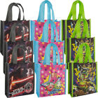 3pk Party Favor Goody Treat Bags With Handles Mini Kids Reusable Shopping Totes $8.99 USD on eBay