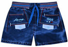 Baby Boys Shorts 100% Cotton Kids New Denim Blue Bottoms Age 0 6 12 18 24 Months