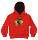 Reebok NHL Boys Kids Chicago Blackhawks Prime Basic Hoodie, Red $14.88 USD on eBay