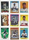 2019 TOPPS ARCHIVES #'s 1-200  ( RC's, STARS, HOF ) - WHO DO YOU NEED!!!