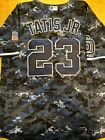 Fernando Tatis Jr. #23 San Diego Padres Jersey : Military Camo : Mens Large on Ebay