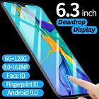 P30 Pro Android Smartphone 6gb+128gb Face Fingerprint Recognition Mobile Phone
