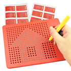 Magnetic Ball Doodle Pad Sketch Tablet Kid Drawing Board learning Tool Toy Gift
