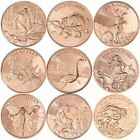 Cryptozoology Series 1 oz .999 Pure Copper BU Round(s) ~ 10 Different Designs