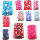 FLORAL ORGANZA RIBBON 25/38mm GIFT WRAPPING CRAFTS PARTY WEDDING HAIR BOWS CAKE