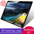 Tablet 2019 10 inch PC 3G 4G LTE Android 8.1 10 Core 8GB RAM 128GB ROM, WiFi GPS