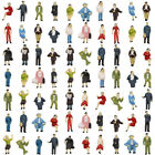 24-72pcs HO scale 1:87 Seated and Standing People Figures Passengers P8717