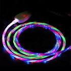 Flowing Light LED Fast Charge USB Type-C Charger Cable For Samsung S10 Huawei