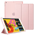 For iPad 10.2'' 7th Gen 2019 Tablet Cover Case Auto Wake/Sleep Translucent Slim