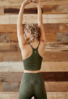 NEW Free People Movement Happiness Runs Tank Crop Top in Green XS/S-M/L 24.80