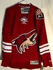 Reebok Premier NHL Jersey Arizona Coyotes Team Burgundy sz XL $20.5 USD on eBay