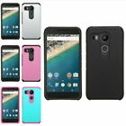 For LG Google Nexus 5X (2015) Hybrid Impact Rugged Shockproof Hard Case Cover