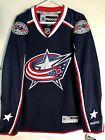 Reebok Premier NHL Jersey Columbus Blue Jackets Team Navy sz L $39.99 USD on eBay