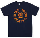 Zubaz MLB Men's Detroit Tigers Circle Logo Cotton T-Shirt on Ebay